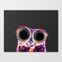 Electric Owl Canvas Print