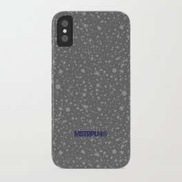 Trail Status / Stone Grey iPhone Case