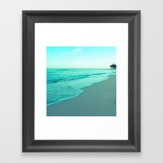 calm day 05 ver.blue Framed Art Print