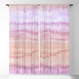 WITHIN THE TIDES SUMMER DAY by Monika Strigel Sheer Curtain