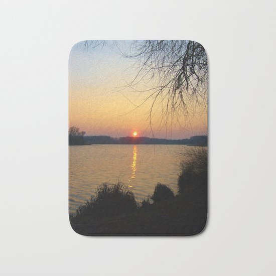 Sunset 1 Photography Bath Mat
