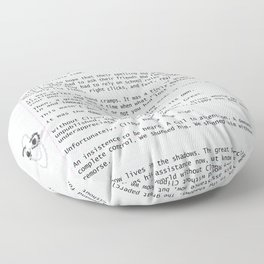 Unique Gifts For Writers: An Homage to Clippy Floor Pillow
