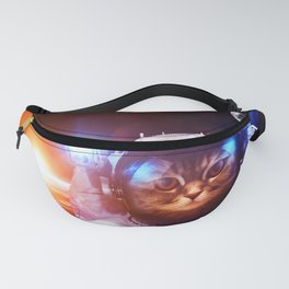 Funny Cat Astronaut #1 Fanny Pack