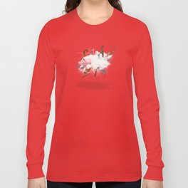 Dust-Ups: Viking vs Kraken Long Sleeve T-shirt