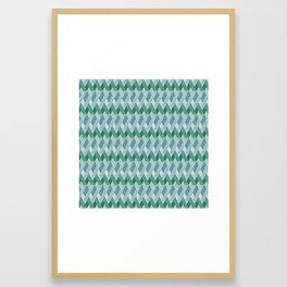 BG Riley - Rory in Blue - Framed Art Print