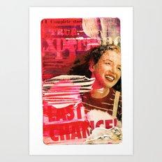 #lastchance  Art Print