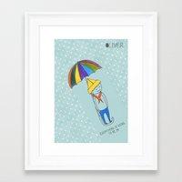 okay Framed Art Prints featuring Okay by Red Socks Illustration