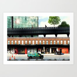 High life at the Standard - New York Art Print
