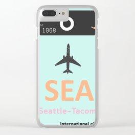 SEA Seattle Clear iPhone Case