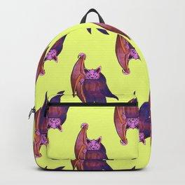 bat magical alien pattern Backpack