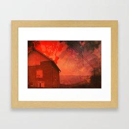 The Barn on Breakers Hill Framed Art Print