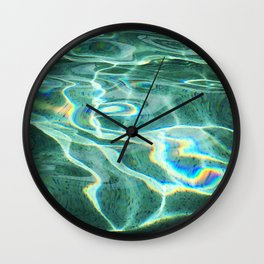 Reflecting on the Pool Wall Clock