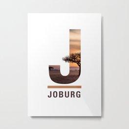 J-oburg Metal Print