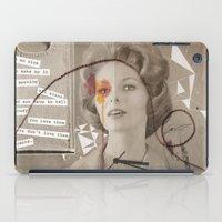 poem iPad Cases featuring LOVE POEM by MEERA LEE PATEL