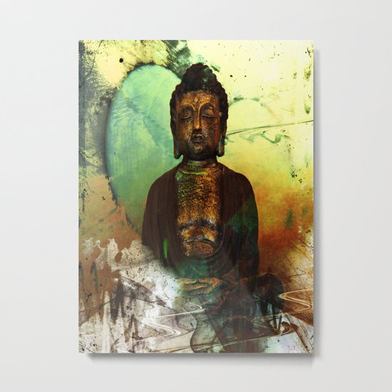 BUDDHA 100 Metal Print