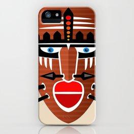 Tribal Mask II iPhone Case