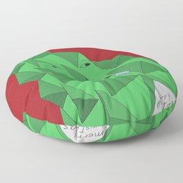 christmas pine Floor Pillow