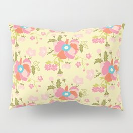 Peonies Bouquet Pillow Sham