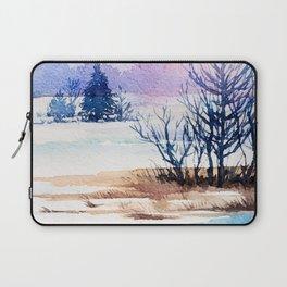 Winter scenery #13 Laptop Sleeve