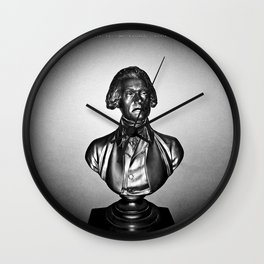 Jefferson's Epitaph Wall Clock