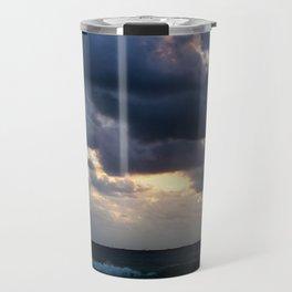 Dramatic Beach Sunset Travel Mug