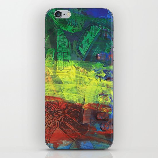 """""""Move Like This"""" by Cap Blackard iPhone & iPod Skin"""