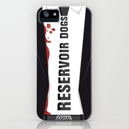 Reservoir Dogs Tribute Poster iPhone Case
