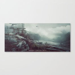 Battlestation Canvas Print