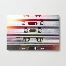 caterpillar of tractor Metal Print