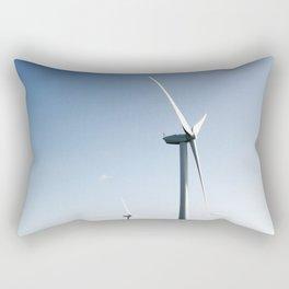 wind turbine in derbyshire Rectangular Pillow