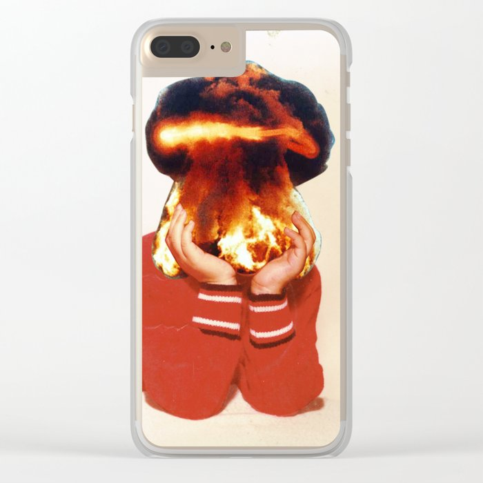 All my friends are dead Clear iPhone Case
