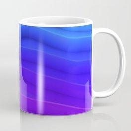 Abstract Mountain Stairs Surface Rim Coffee Mug