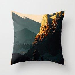 Magic Movies Throw Pillow