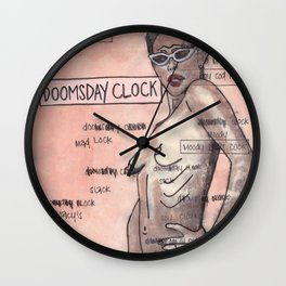 Doomsday Clock Wall Clock