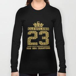 2016 Champions Cavaliers Team 23 Basketball T-Shirts Long Sleeve T-shirt