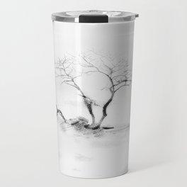 Scots Pine, Gray Travel Mug