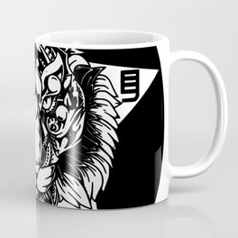 Circle Star Tiger Coffee Mug