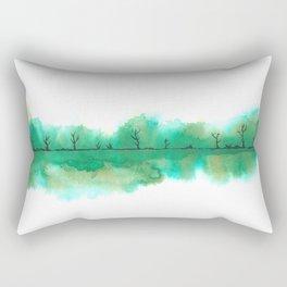 The emerald swamp Rectangular Pillow