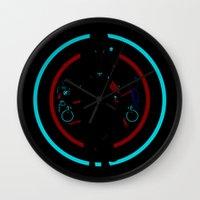 tron Wall Clocks featuring Tron Legacy by Florey