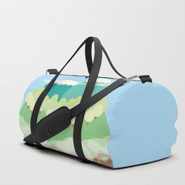 Mountains In The Sky Duffle Bag