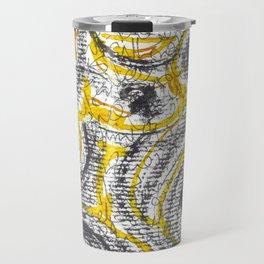 Letters doodle Travel Mug