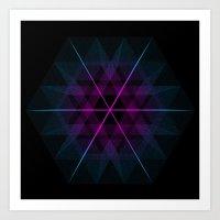 geode Art Prints featuring Geode by Matt Borchert