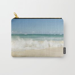 beach love shoreline serenity Carry-All Pouch