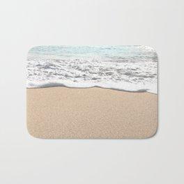 Wave Foam // California Ocean Pier Sandy Beaches Surf Country Pacific West Coast Photography Bath Mat