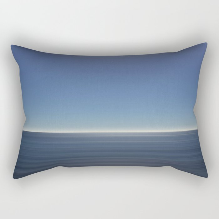 Two colours Rectangular Pillow