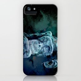 A JANE GOODALL quote - universe version iPhone Case