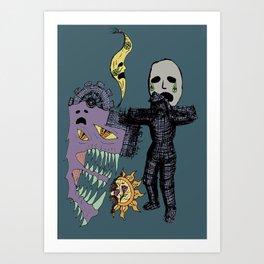 Decaying Wonderland VI Art Print