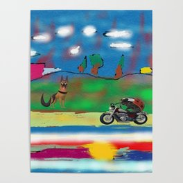 The motorized animals Poster