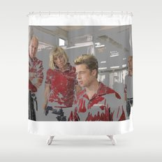 Burn after reading Shower Curtain