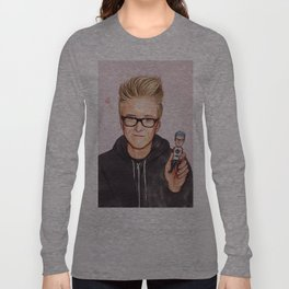 Tyler Oakley Long Sleeve T-shirt